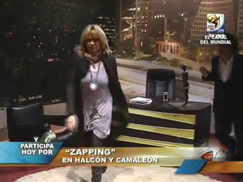 Halcón y Camaleón TVN Kramer - Jugo Cesar Rodriguez (junio 2010)