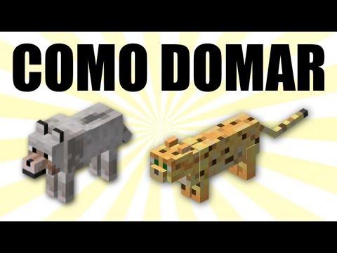 Guía Básica de Minecraft Domar Domesticar a Lobos y Ocelotes ¿Para qué