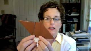 蓮花紙摺帽子的折法