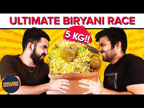 CRAZY Biryani Eating Challenge at Biryani Blues  Challenge Accepted 37