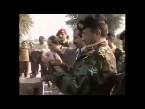 ISPR tribute to General Pervez Musharraf former president of Pakistan & SSG Commando