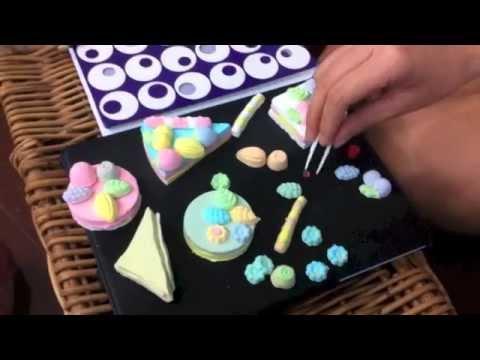 เล่นทำเค้กของเล่นของ Kutsuwa
