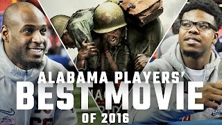 Alabama Football Players Pick Their Favorite Pregame Movie of 2016