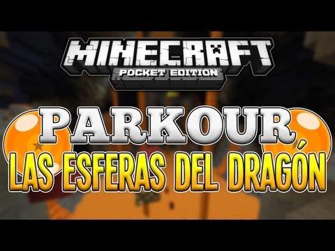 Minecraft PE - PARKOUR: LAS ESFERAS DEL DRAGÓN