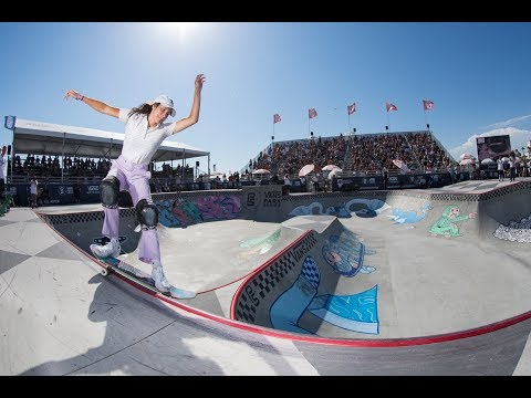 3rd Place Run, Nora Vasconcellos 82.36 | Huntington Beach, 2017 Pro Tour | Vans Park Series