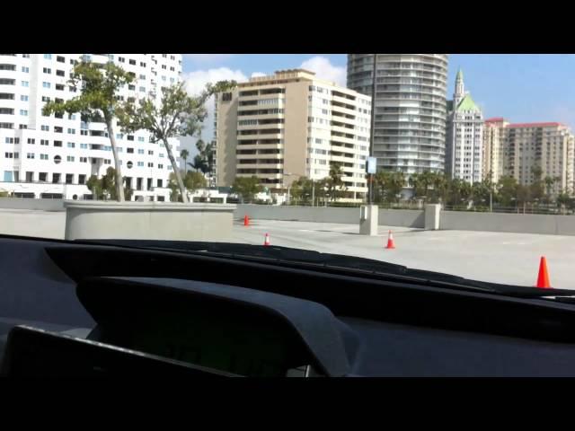 Inside A Google Auto-Driving Car
