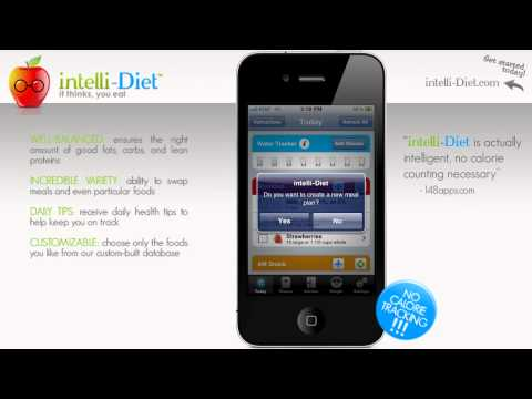 iPhone Diet App | iPhone Weight Loss App | intelli-Diet for iPhone