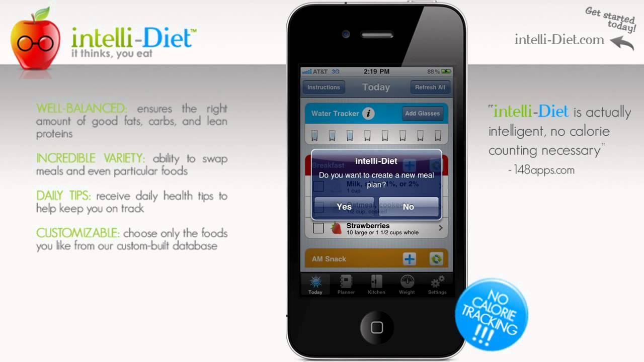 5 Best Diet Apps for iPhone, iPad and Android
