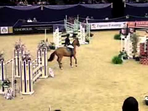 Horse of the Year 2011 show jumping – Lucy Guild