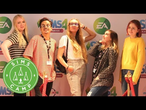 SIMS CAMP 2018 - The Sims 4: Get Famous