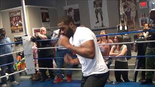 Bryant Jennings Media Workout, April 24, 2018