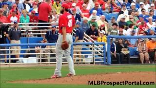 Phillippe Aumont, RHP, Philadelphia Phillies - 2014 Spring Training