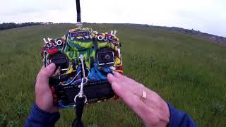 GAMA 2100 testovací let po pádu a opravě
