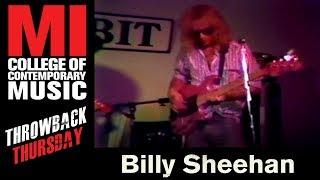 Billy Sheehan - Musicians Institute(MI)がMIにて行われた21分のライブ映像を公開 Tim Bogertも登場 thm Music info Clip