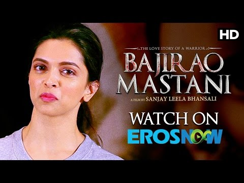 Deepika Padukone Says Watch Bajirao Mastani On Eros Now