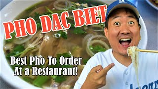 PHO DAC BIET: The Best PHO to Order at a Vietnamese Restaurant | Pho in LA