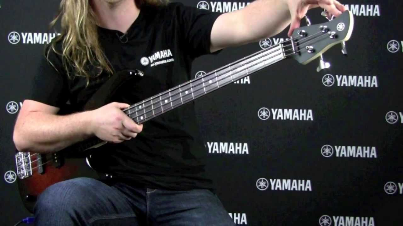 Yamaha trbx174 bass guitar youtube for Yamaha vc5 cello review