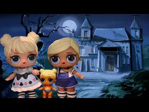 LOL Surprise Dolls - The Girls Stay at Scooby Doo's Haunted House - Family Fun Playtime w/ Toys