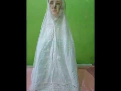 Foto perlengkapan haji plus wanita