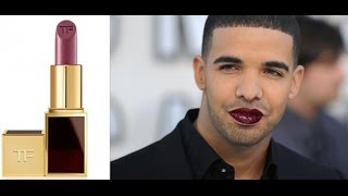 Drake Responds To His Tom Ford Lipstick Selling Out In Minutes