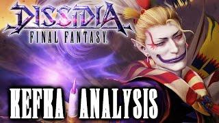 Dissidia Final Fantasy: Kefka Palazzo Trailer Analysis