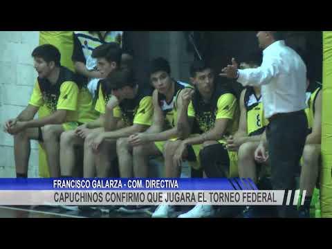 Capuchinos confirmó su participación en el Torneo Federal