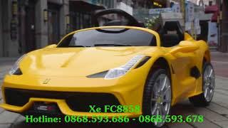 Xe ô tô điện trẻ em Ferrari FC-8858   WWW.BONGKIDS.COM