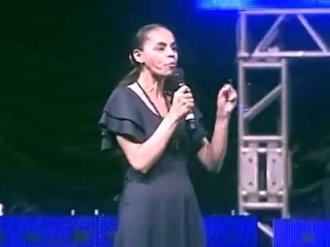 Marina Silva pregando a Palavra de Deus - Arrepiante!