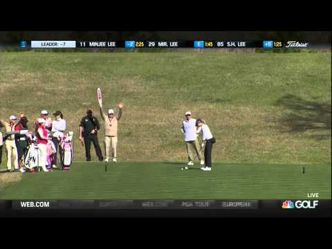 Paula Creamer's Hole-In-One at the Coates Golf Championship