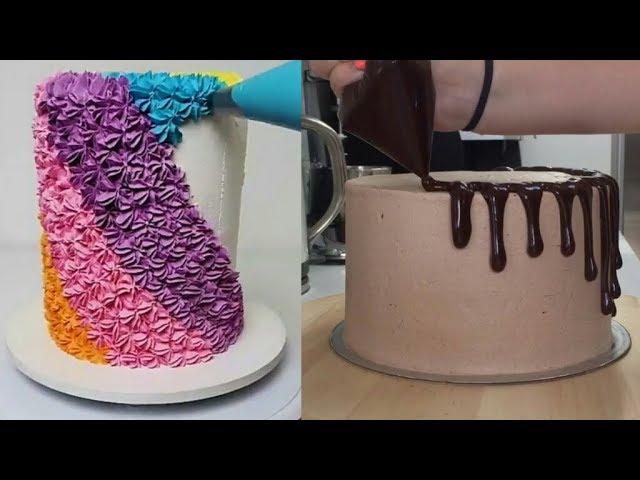 Как украсить торт своими руками быстро и просто 616