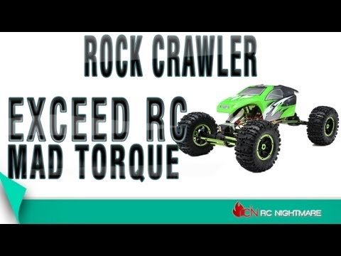 Exceed RC Mad Torque 1/8 Scale Rock Crawler Unboxing