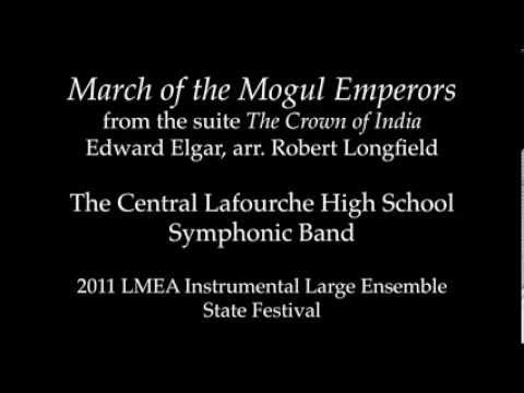 March of the Mogul Emperors, 2011 Central Lafourche High School Symphonic Band