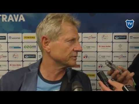 Rozhovor s trenérem Vlastimilem Petrželou po utkání s Prostějovem.