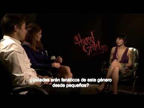 HANSEL AND GRETEL WITCH HUNTERS- Interview Jeremy Renner, Gemma Arterton and Tommy Wirkola