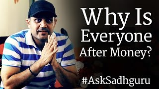 Virender Sehwag Asks Sadhguru - Why Is Everyone After Money?