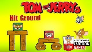 Tom and Jerry - Hit Ground. Fun Tom and Jerry 2018 Games. Baby Games  #littlekids