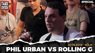 Rolling G vs. Phil Urban | Surprise Acapella-Match | TopTier Takeover