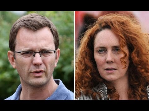 Phone-hacking trial: Rebekah Brooks and Andy Coulson arrive at court