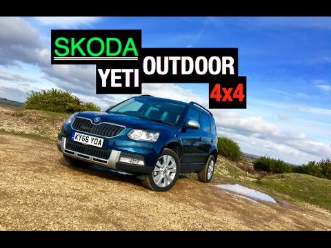 2017 Skoda Yeti Outdoor 4x4 Review - Inside Lane