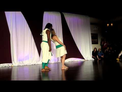 Xavier & Anne-Marie (Caraibeen Zouk) at the Madessimo Madness on April 28th 2012