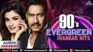 90's Evergreen Jhankar Hits | Bollywood Romantic Songs | JUKEBOX | Hindi Love Songs