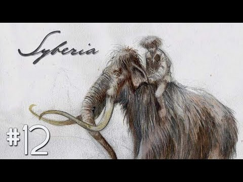 Let's Play Syberia Part 12 - The Stationmaster and the Barge