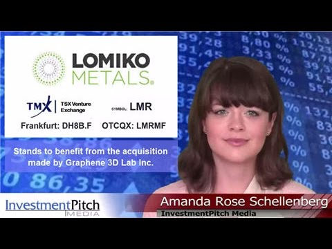 Lomiko Metals (TSXV:LMR) stands to benefit from the acquisition made by Graphene 3D Lab Inc.