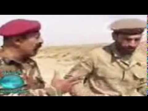 عراقي يدرب كردي مضحك
