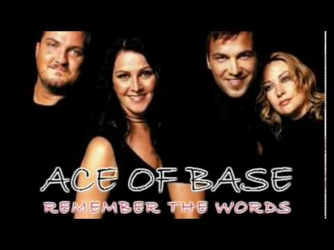 Ace Of Base - Remember The Words