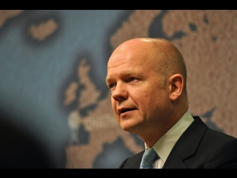 William Hague on the UK and Somalia