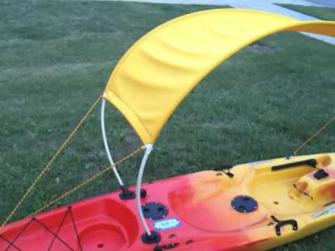 DIY Kayak Bimini Top Part 1