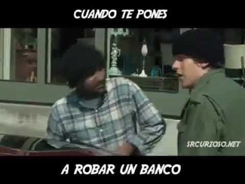 cuando te pones a robar un banco: v