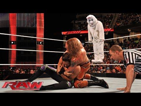 Adam Rose & The Bunny vs. Heath Slater & Titus O'Neil: Raw...
