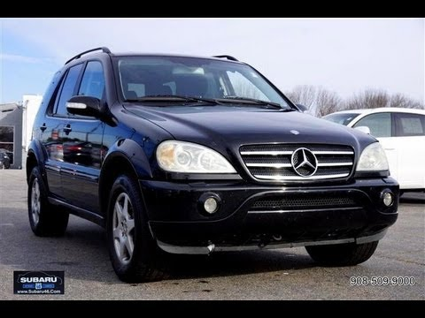Mercedes benz ml class for 2003 mercedes benz ml350 4matic